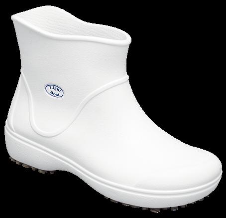 Bota Light Boot Branca (Tamanho 40) - SOFT WORK