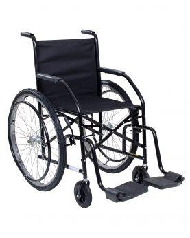 Cadeira de Rodas Raiada Modelo 101 Preta - CDS