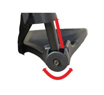 Cadeira de Rodas AVD Alumínio L40 - ORTOBRAS
