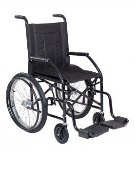 Cadeira de Rodas Recreio Infantil Preta - CDS