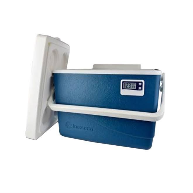 Caixa Térmica 15L  c/ Termometro Digital - INCOTERM