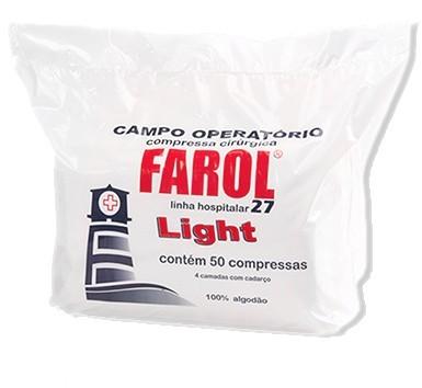 Campo Operatório Não Estéril Light 27 Pacote c/ 50 Unidades S/ Raio X - FAROL