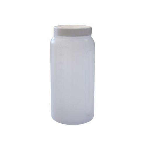 Coletor 24 horas 1 Litro Transparente S/ Alça - CRALPLAST