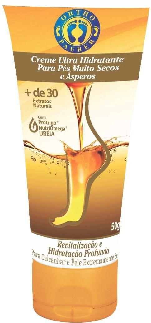 Creme Ultra Hidratante Para Pés Muitos Secos e Ásperos 50g - ORTHO PAUHER