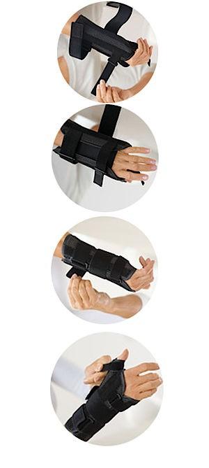 Imobilizador de Punho e Polegar Actimove® Manus Forte Plus - P/M Esquerdo - BSN MEDICAL