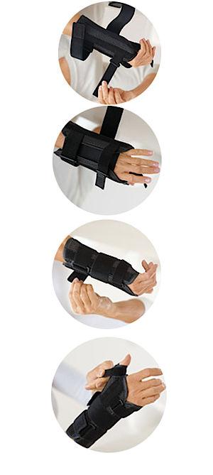 Imobilizador de Punho e Polegar Actimove® Manus Forte Plus - P/M Direito - BSN MEDICAL