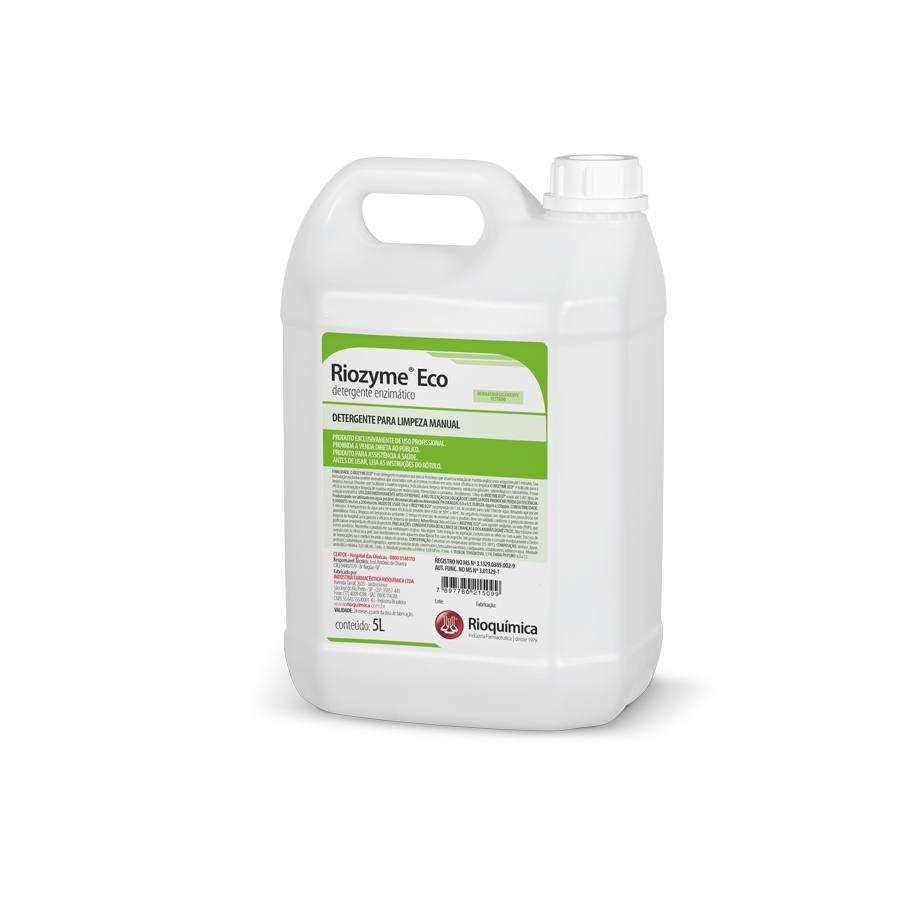 Riozyme Eco (Detergente Enzimático) 5L - RIOQUÍMICA