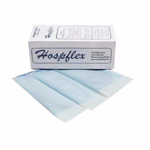 Envelope Para Esterilização 9x26 (Unidade) - HOSPFLEX