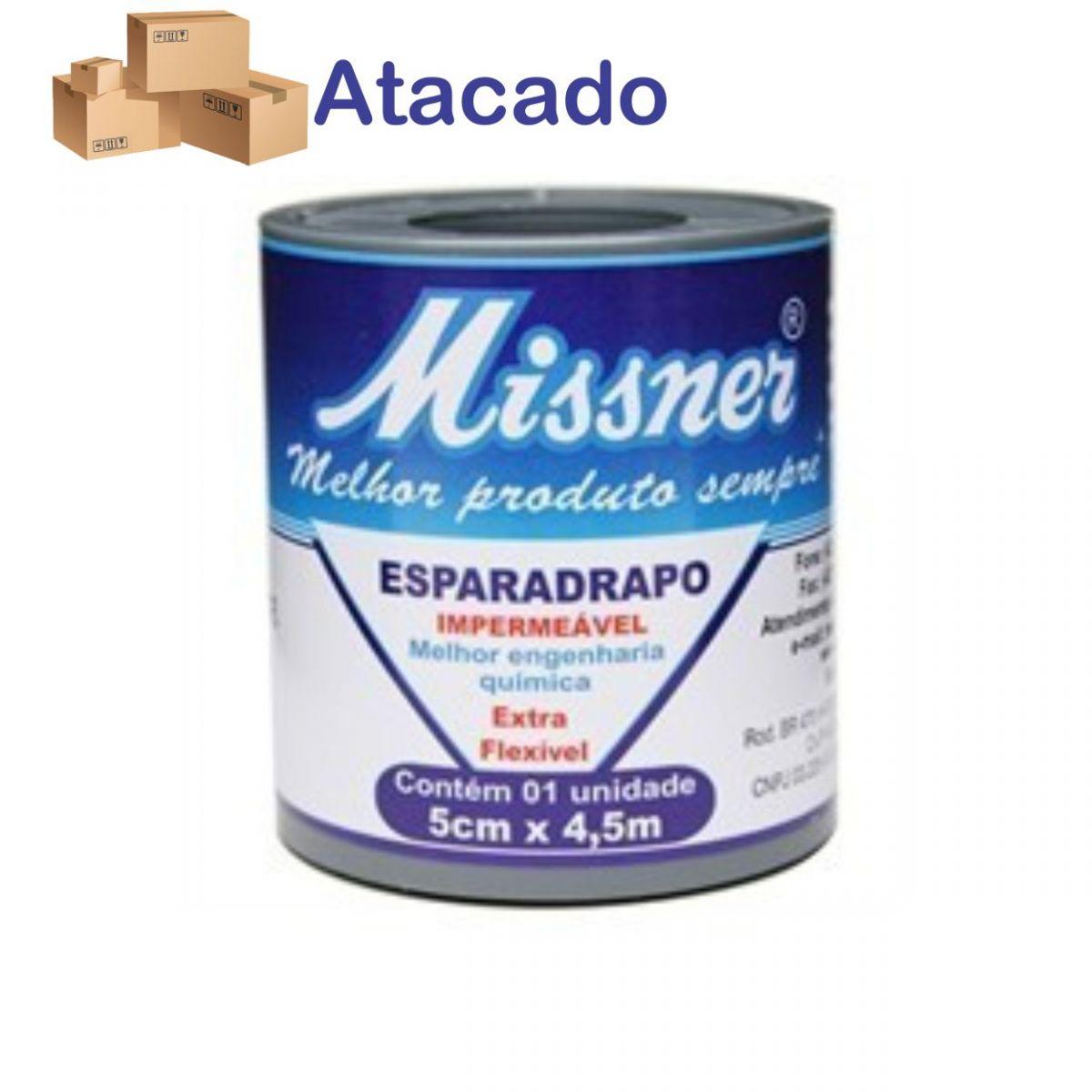 Esparadrapo Missner 5 X 4,5 (Cx c/ 48)