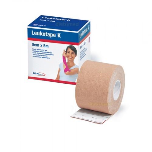 Fita de Kinésio Tape Leukotape 5 cm x 5 m (Bege) -  BSN Medical