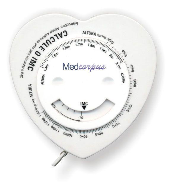 Fita Métrica P/ Calcular o IMC MedCorpus - INCOTERM