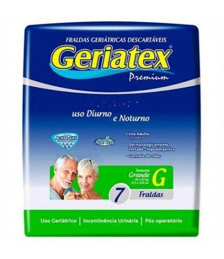 Fralda Premium Geriátrica G (Pacote c/ 7 Unidades) - GERIATEX