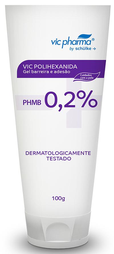 GEL DE LIMPEZA C/ PHMB 100ML - CURATEC