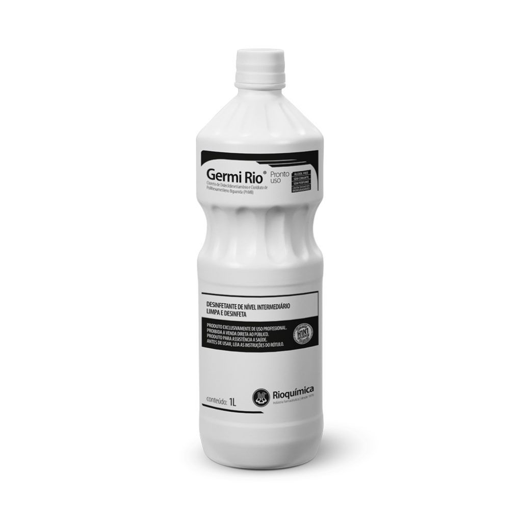 Germi Rio Pronto Uso 1L Caixa c/ 12 Unidades - RIOQUÍMICA