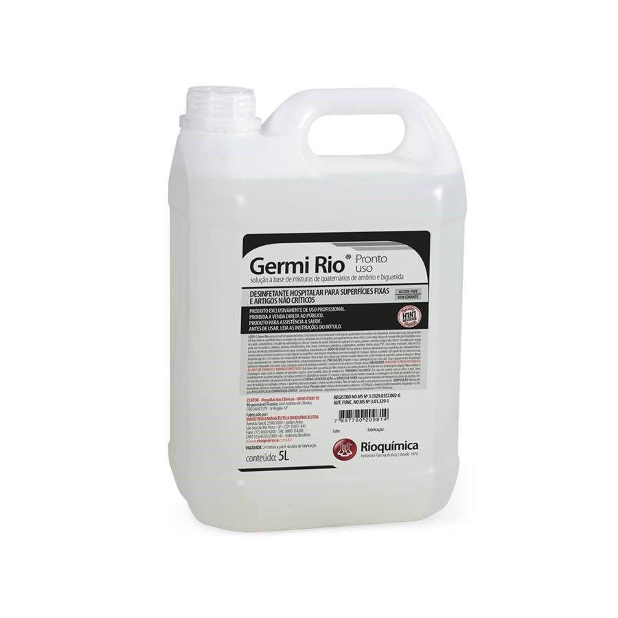 Germi Rio Pronto Uso 5L Caixa c/ 4 Unidades - RIOQUÍMICA