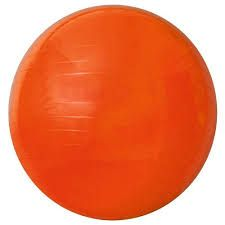 Gym Ball 45 cm Laranja - ACTE