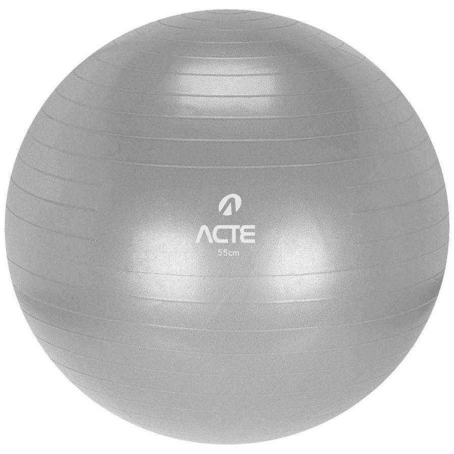 Gym Ball 55 cm Prata - ACTE