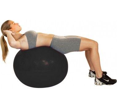 Gym Ball 65 cm Preta - ACTE
