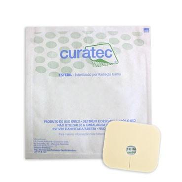 Espuma de Poliuretano 6 X 7cm (Traqueostomia Infantil) - CURATEC