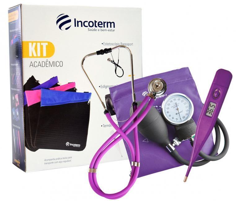 Kit Acadêmico Ka100 Lilás - INCOTERM