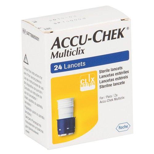 Lanceta Multiclix c/ 24 Unidades - ACCU-CHEK