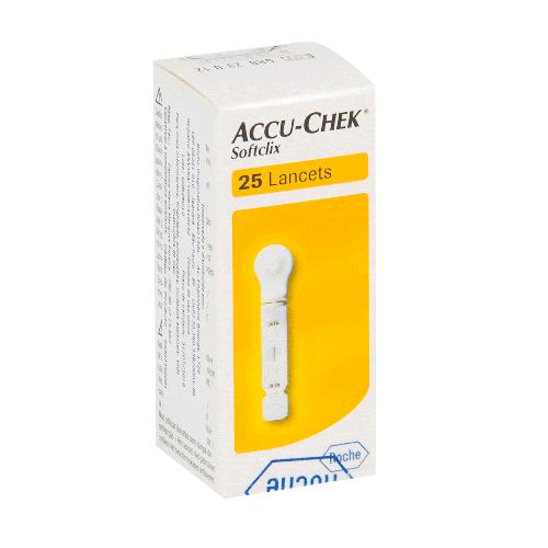 Lanceta Softclix c/ 25 Unidades - ACCU-CHEK