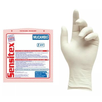 Luva Cirúrgica Estéril Sensitex 6,5 - MUCAMBO