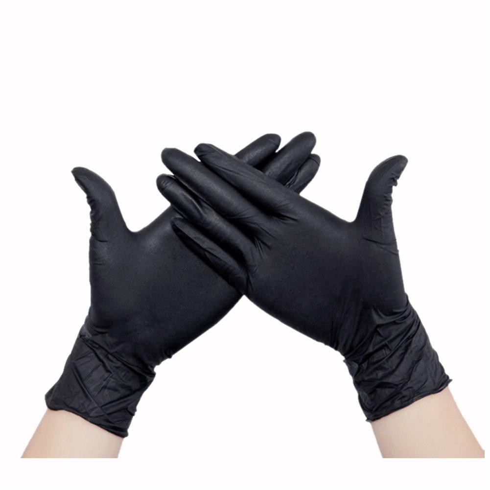 Luva Nitrílica Black Tamanho P - SUPERMAX