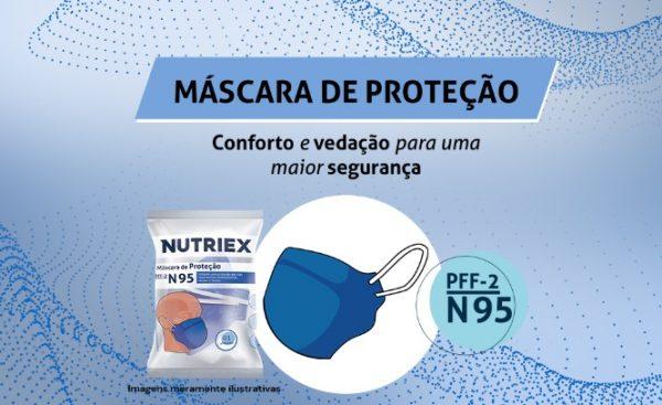 Máscara N95 - Pct C/ 10 - NUTRIEX