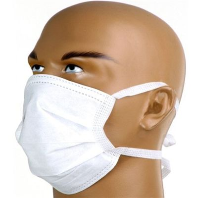 Máscara Tripla Com Tiras Caixa C/ 50 Unidades - DESCARPACK
