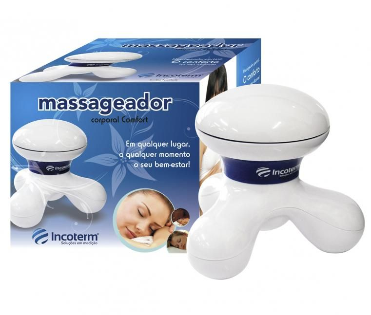 Massageador Corporal Confort Mc100 Branco - INCOTERM