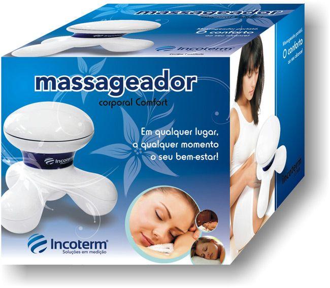 Massageador Corporal Confort Mc100 Branco - INCOTERM