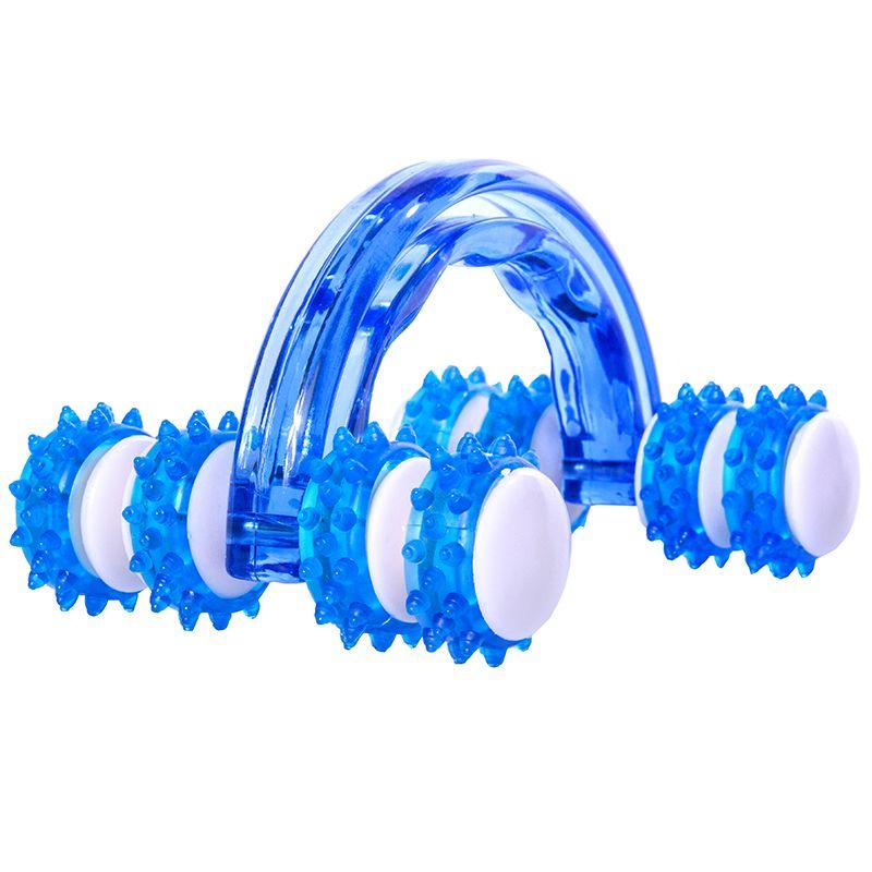 Massageador Manual Roller Azul - ACTE