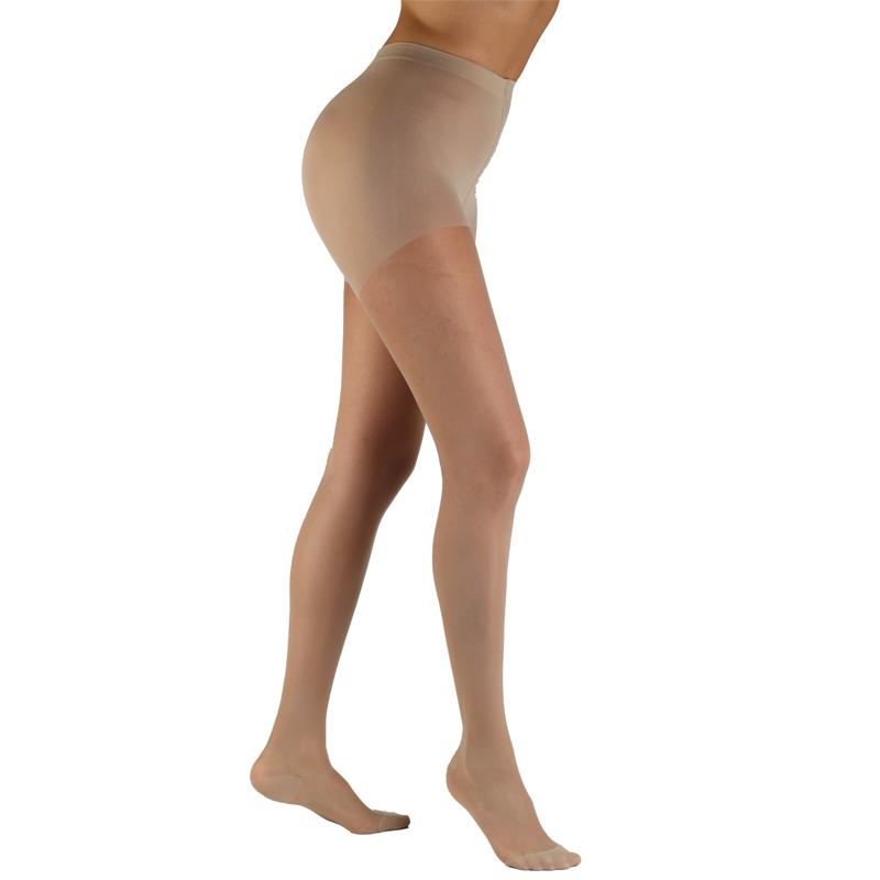 Meia de Compressão Audace Meia Calça Pont. Aberta 15-20mmHg Feminina Natural Tamanho C - SIGVARIS