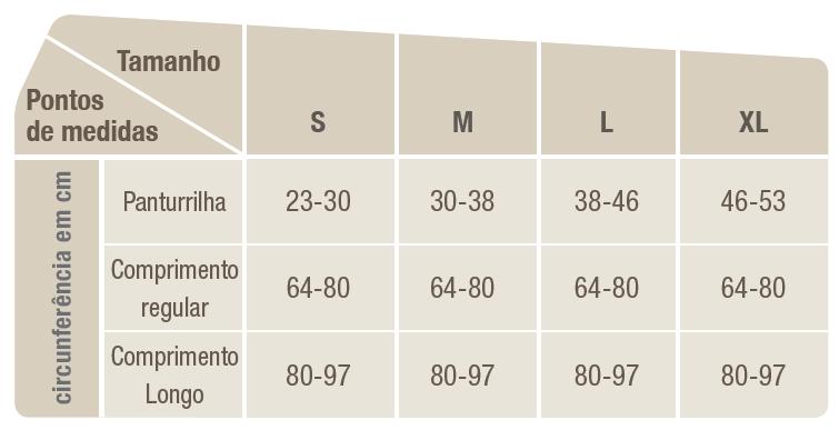 Meia de Compressão Comprinet Pro-Meia Coxa Comp 64-80 cm x Pant 30-38 cm - BSN MEDICAL