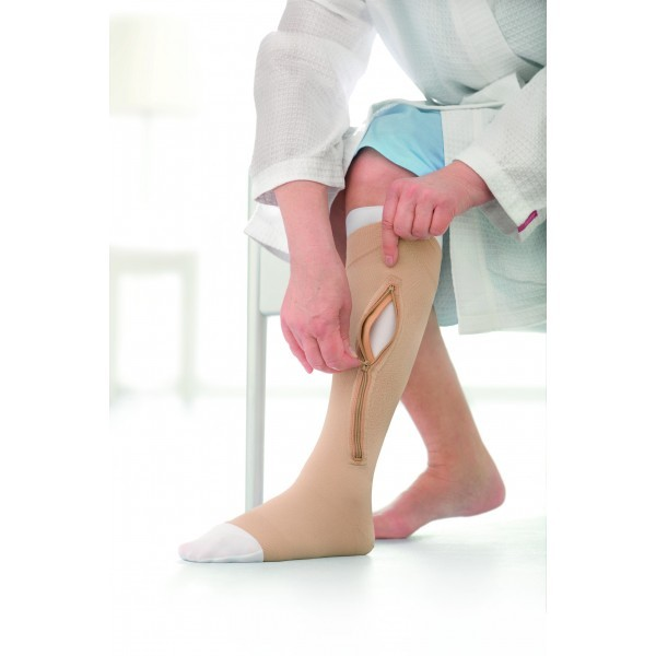 Meia de Compressão Jobst Ulcercare 40mmgh Panturrilha Direita XG (C/ Zíper) - BSN MEDICAL