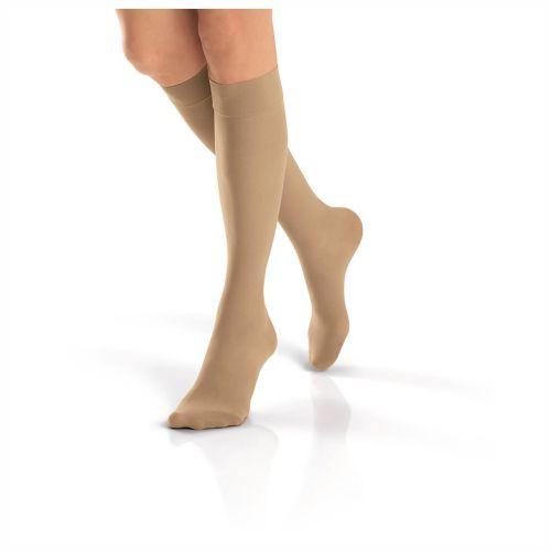 Meia de Compressão Jobst Ultrasheer Feminina 20-30mmHg  3/4 P (Ponteira Fechada - Natural) - BSN MEDICAL