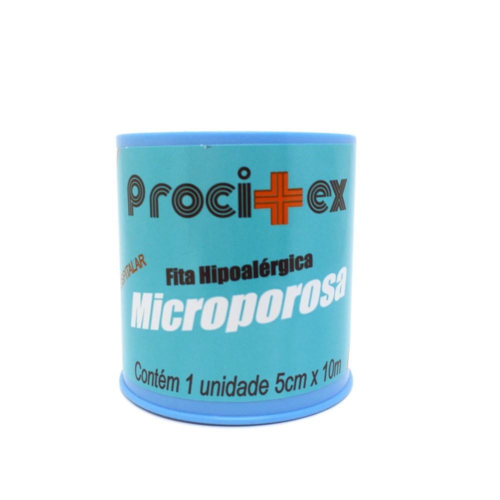 Fita Microporosa Hipoalérgica 5 X 10 - PROCITEX