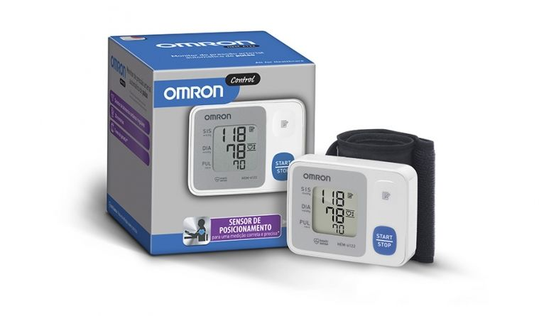 Aparelho de Pressão Digital de Pulso (HEM - 6124) - OMRON