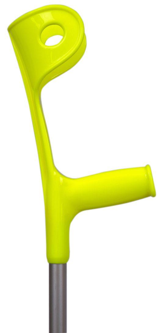 Muleta Canadense Fixa 110 Kg Amarela (Unidade) - SEQUENCIAL