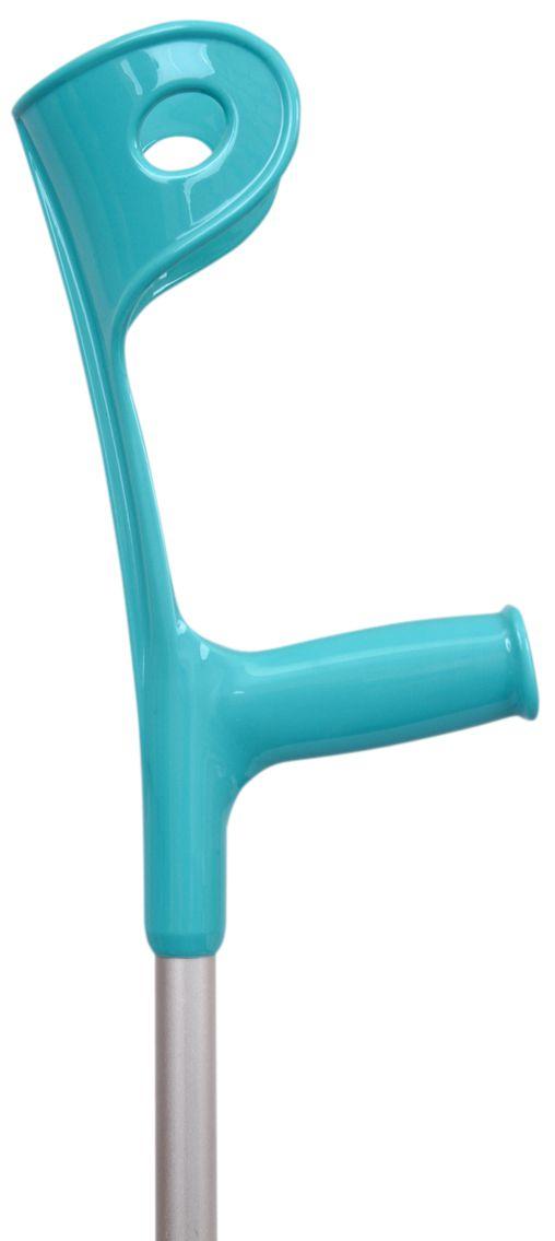 Muleta Canadense Fixa 110 kg Azul Turquesa (Unidade) - SEQUENCIAL
