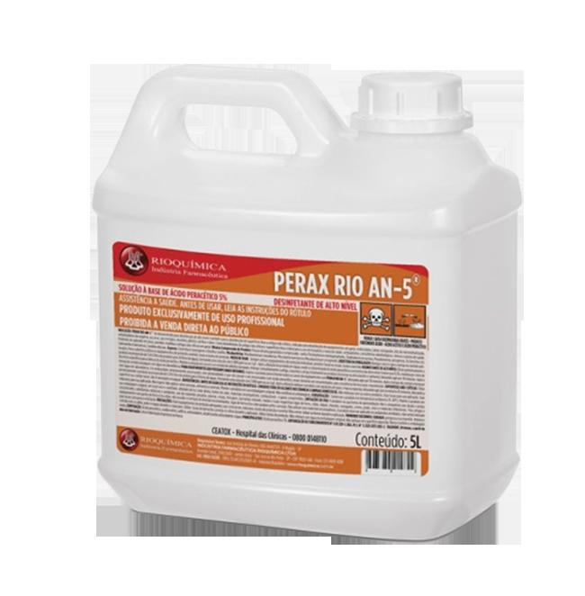 Perax Rio AN-5 (Desinfetante de alto nível) - Galão 5L - RIOQUÍMICA