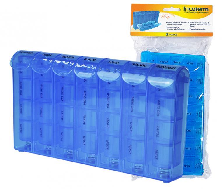 Porta Comprimidos Semanal - INCOTERM