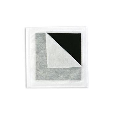 Carvão Ativado c/ Prata 10,5 cm  X 10,5 cm Sache - CURATEC