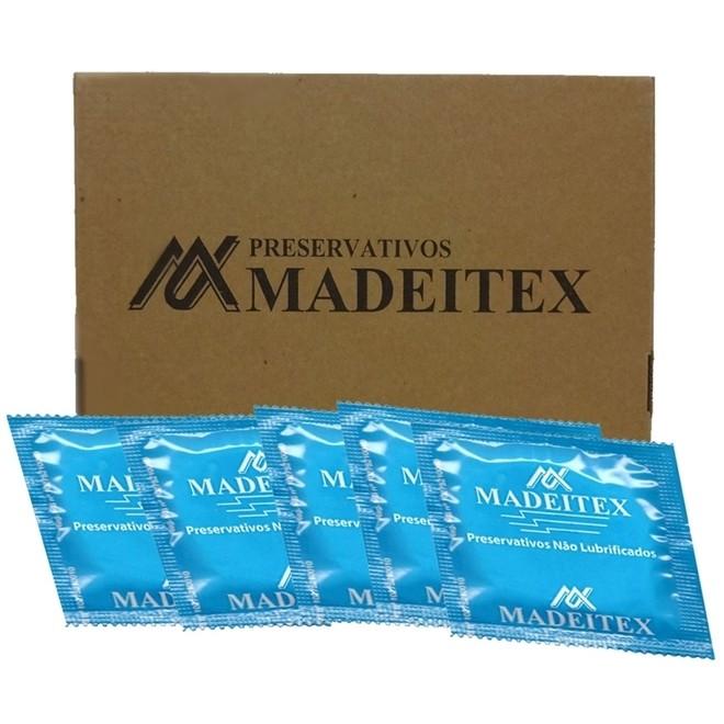 Preservativo Não Lubrificado - MADEITEX