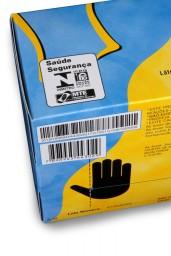 Luva de Procedimento Látex Tamanho G Caixa C/ 10 Cartuchos - SUPERMAX