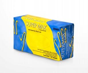 Luva de Procedimento Látex Tamanho PP - SUPERMAX