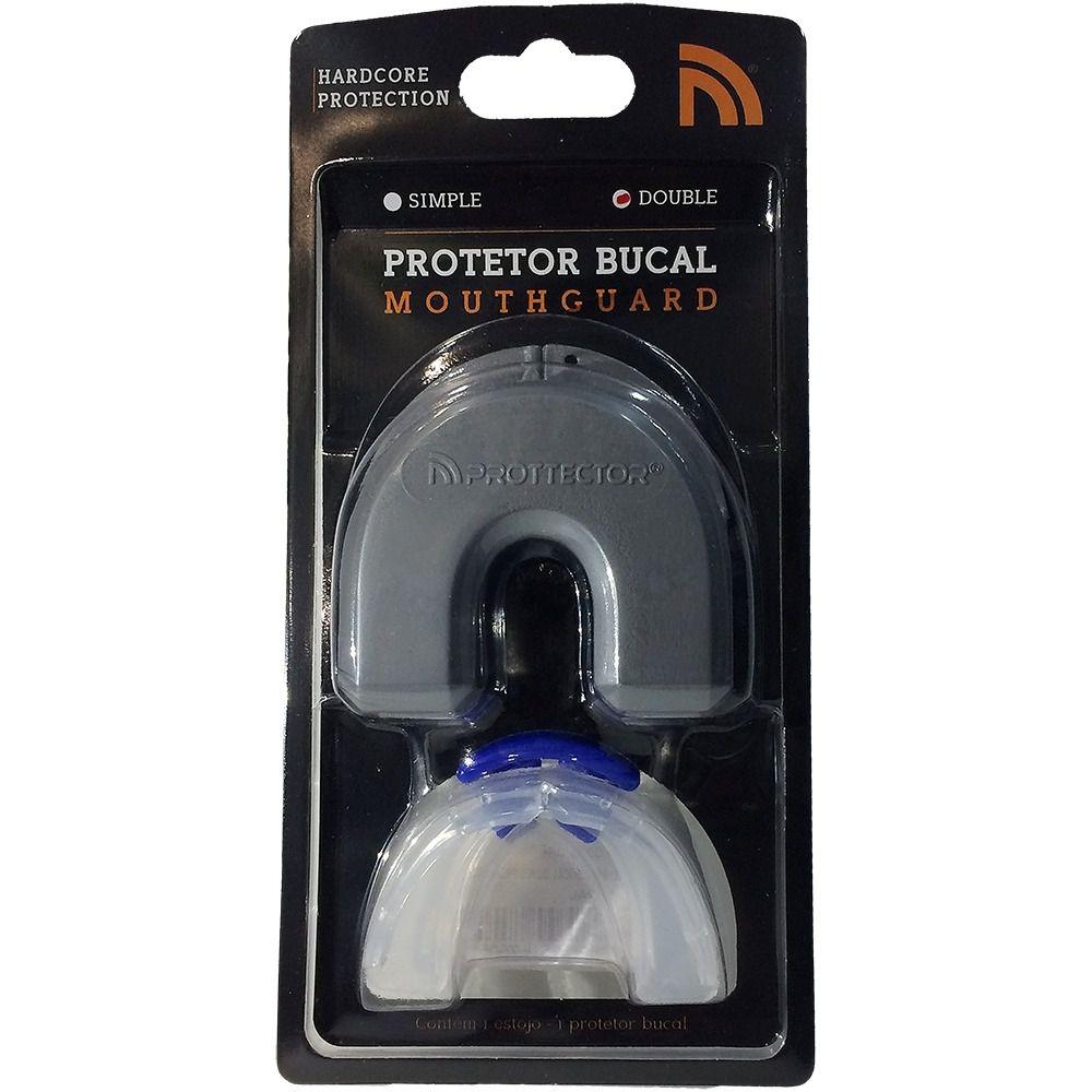 Protetor Bucal Duplo + Estojo - PROTTECTOR