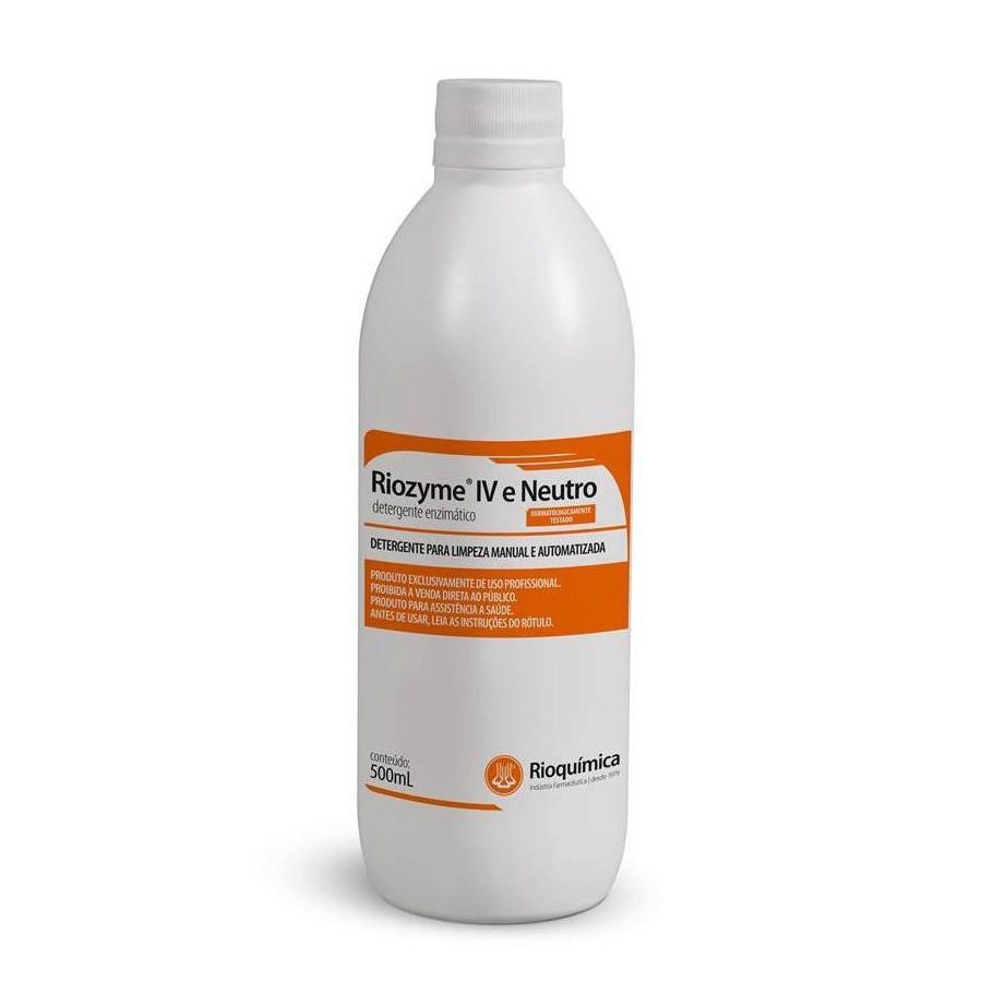 Riozyme IV e Neutro (Detergente Enzimático) 500mL - RIOQUÍMICA