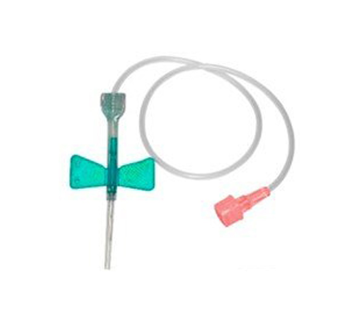 Scalp Intravenoso Descartável c/ Dispositivo de Segurança 21G x 3/4 - POLYMED